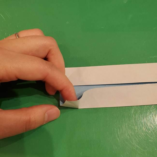 さんまの折り紙の簡単な折り方作り方(7)