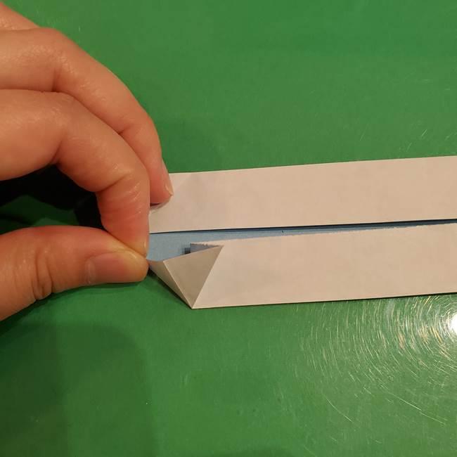 さんまの折り紙の簡単な折り方作り方(8)