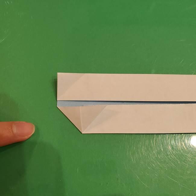 さんまの折り紙の簡単な折り方作り方(9)