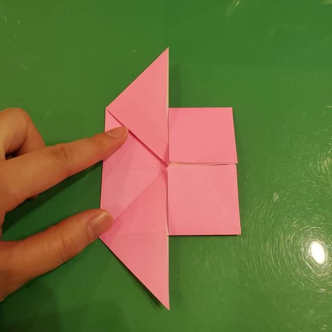 すみっこぐらし ふくろうの折り紙の折り方作り方(10)
