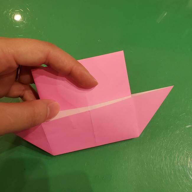 すみっこぐらし ふくろうの折り紙の折り方作り方(11)