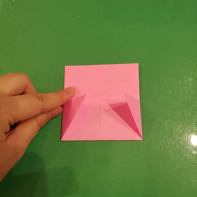すみっこぐらし ふくろうの折り紙の折り方作り方(12)