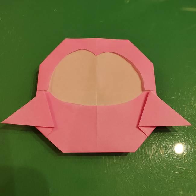 すみっこぐらし ふくろうの折り紙の折り方作り方(18)