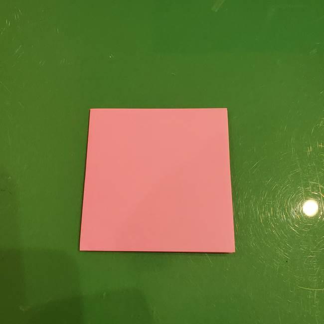 すみっこぐらし ふくろうの折り紙の折り方作り方(3)