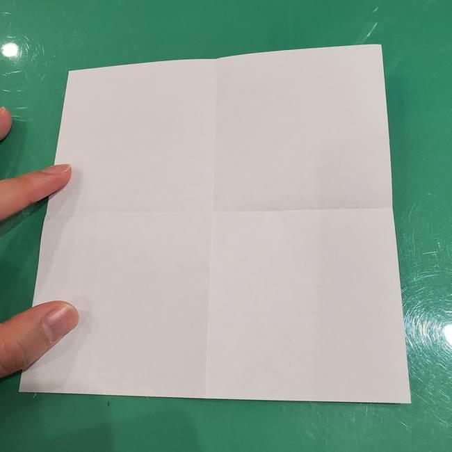 すみっこぐらし ふくろうの折り紙の折り方作り方(4)