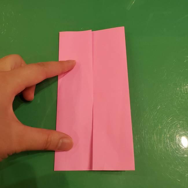 すみっこぐらし ふくろうの折り紙の折り方作り方(5)