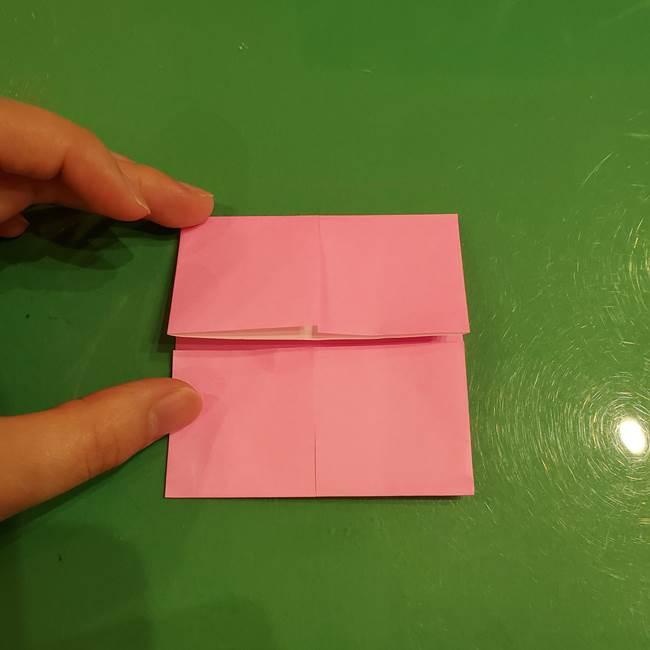 すみっこぐらし ふくろうの折り紙の折り方作り方(7)