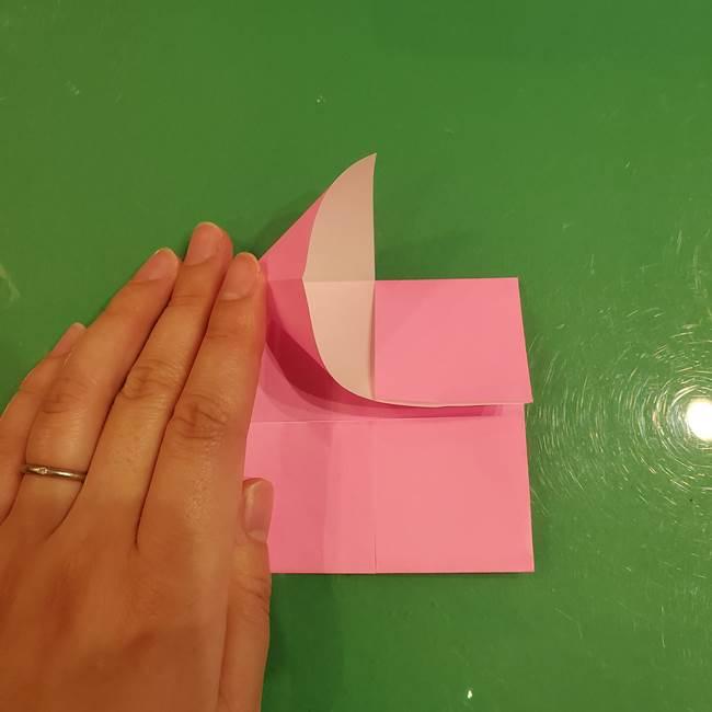 すみっこぐらし ふくろうの折り紙の折り方作り方(8)