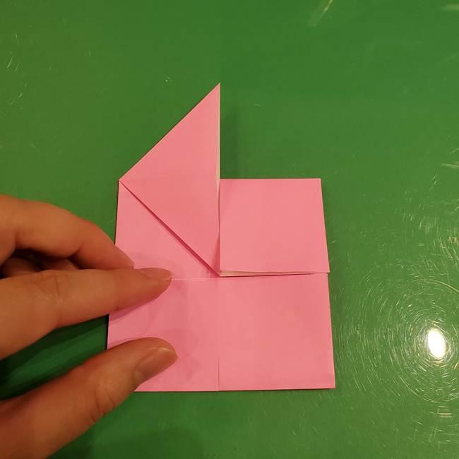 すみっこぐらし ふくろうの折り紙の折り方作り方(9)