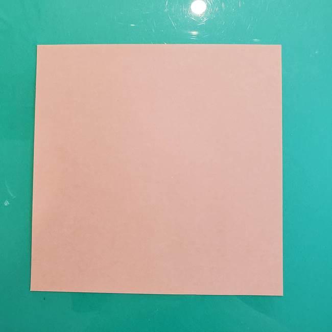 たぬきの折り紙は簡単でかわいい♪用意するもの1