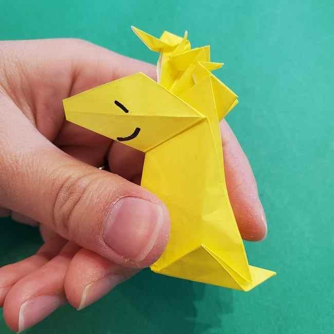 ウッドストックの折り方は簡単♪折り紙でスヌーピーの仲間キャラクターを手作り