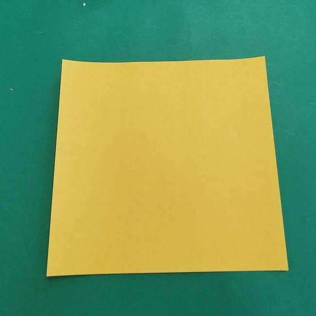 ウッドストックの折り方・作り方 (1)