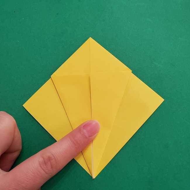 ウッドストックの折り方・作り方 (9)