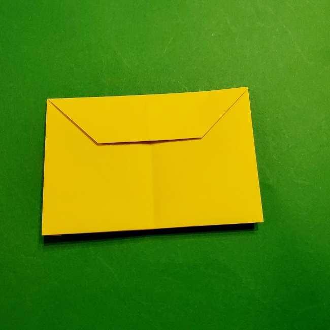 スヌーピーの女の子サリー(全身)の折り紙*折り方作り方①髪の毛 (10)