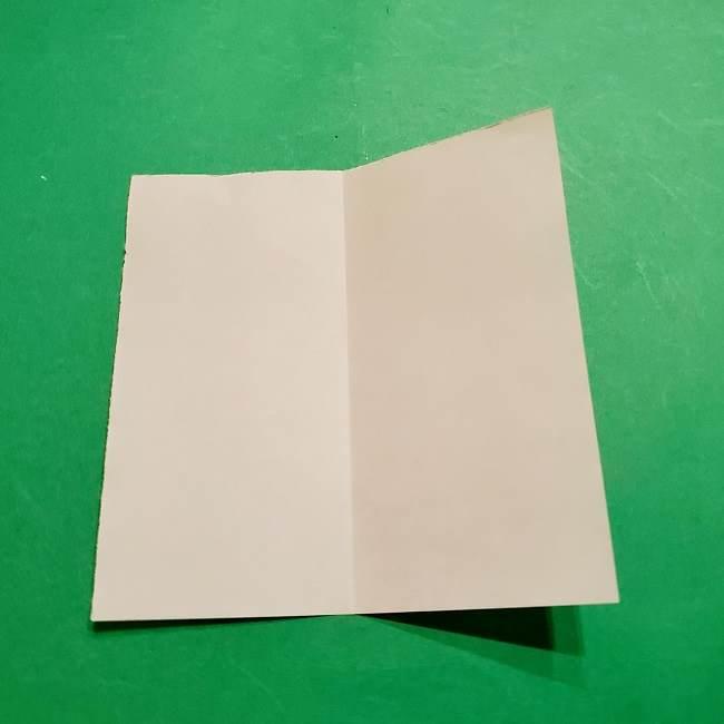 スヌーピーの女の子サリー(全身)の折り紙*折り方作り方②ワンピース (3)