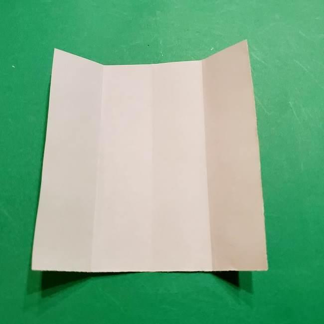 スヌーピーの女の子サリー(全身)の折り紙*折り方作り方②ワンピース (5)