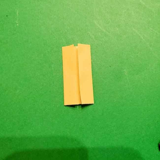 スヌーピーの女の子サリー(全身)の折り紙*折り方作り方⑤足
