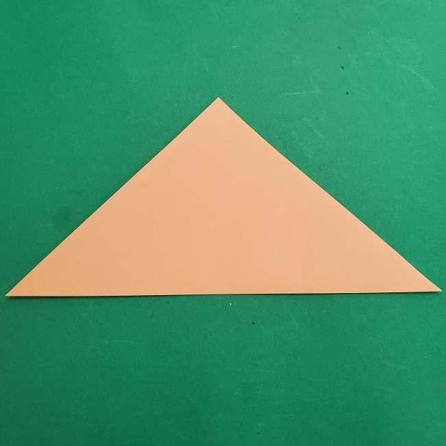 チャーリーブラウンの折り紙☆折り方作り方①顔 (2)