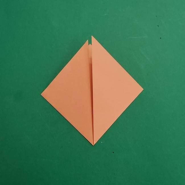 チャーリーブラウンの折り紙☆折り方作り方①顔 (3)