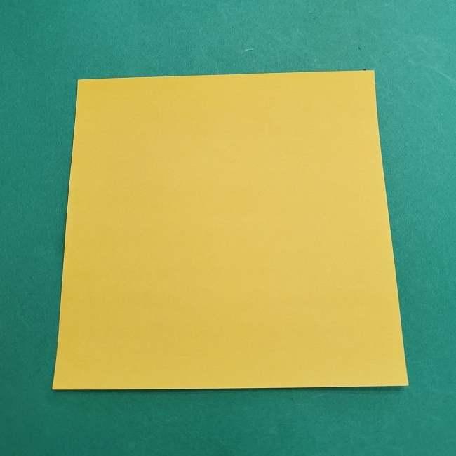 チャーリーブラウンの折り紙☆折り方作り方②シャツ (1)
