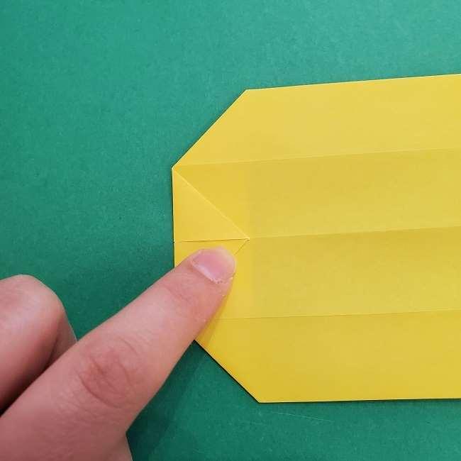 チャーリーブラウンの折り紙☆折り方作り方②シャツ (11)