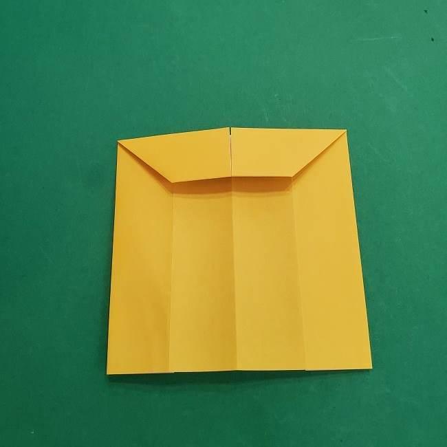 チャーリーブラウンの折り紙☆折り方作り方②シャツ (13)