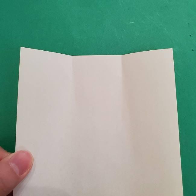 チャーリーブラウンの折り紙☆折り方作り方②シャツ (3)