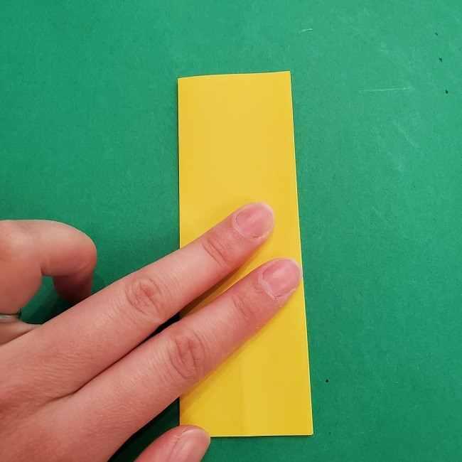 チャーリーブラウンの折り紙☆折り方作り方②シャツ (4)