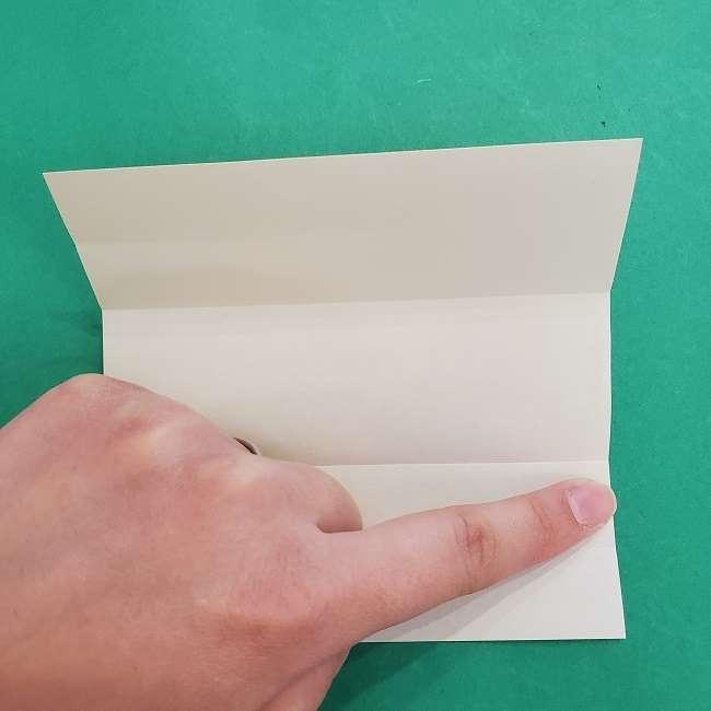 チャーリーブラウンの折り紙☆折り方作り方②シャツ (5)