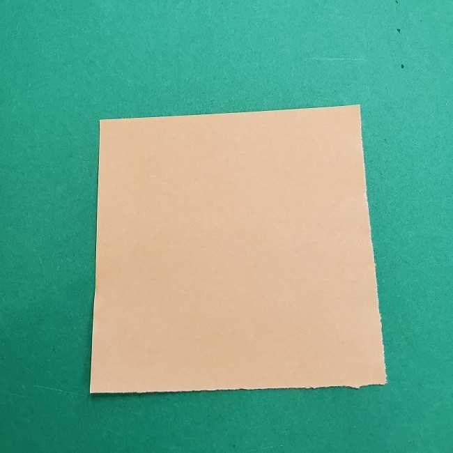 チャーリーブラウンの折り紙☆折り方作り方③手足 (1)