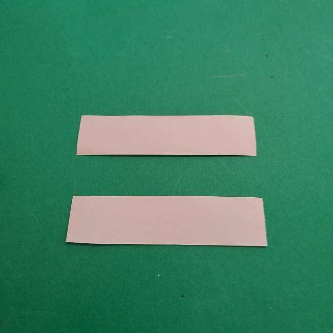 チャーリーブラウンの折り紙☆折り方作り方③手足 (10)