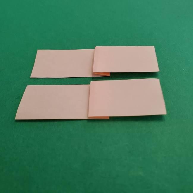 チャーリーブラウンの折り紙☆折り方作り方③手足 (12)