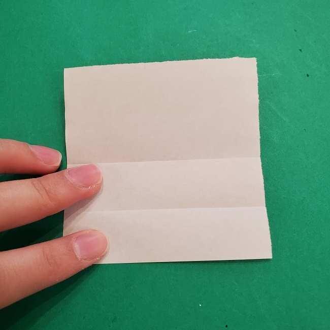 チャーリーブラウンの折り紙☆折り方作り方③手足 (3)