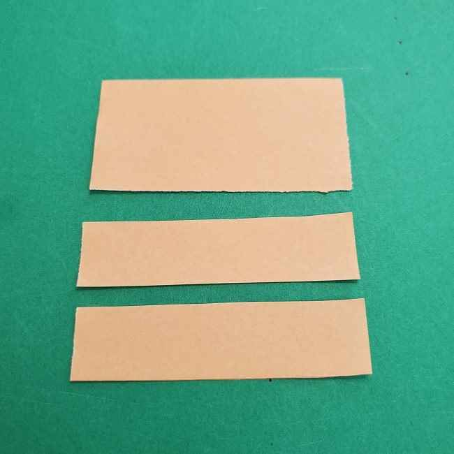 チャーリーブラウンの折り紙☆折り方作り方③手足 (4)