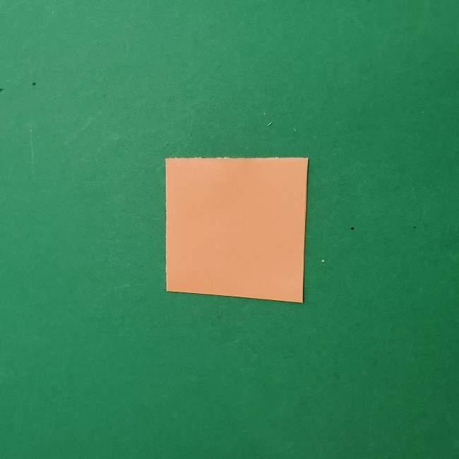 チャーリーブラウンの折り紙☆折り方作り方③手足 (6)