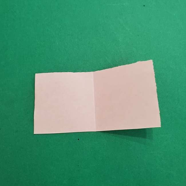 チャーリーブラウンの折り紙☆折り方作り方③手足 (7)