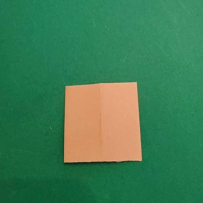 チャーリーブラウンの折り紙☆折り方作り方③手足 (8)