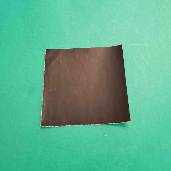 チャーリーブラウンの折り紙☆折り方作り方④ズボン (1)