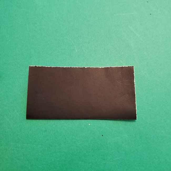 チャーリーブラウンの折り紙☆折り方作り方④ズボン (2)