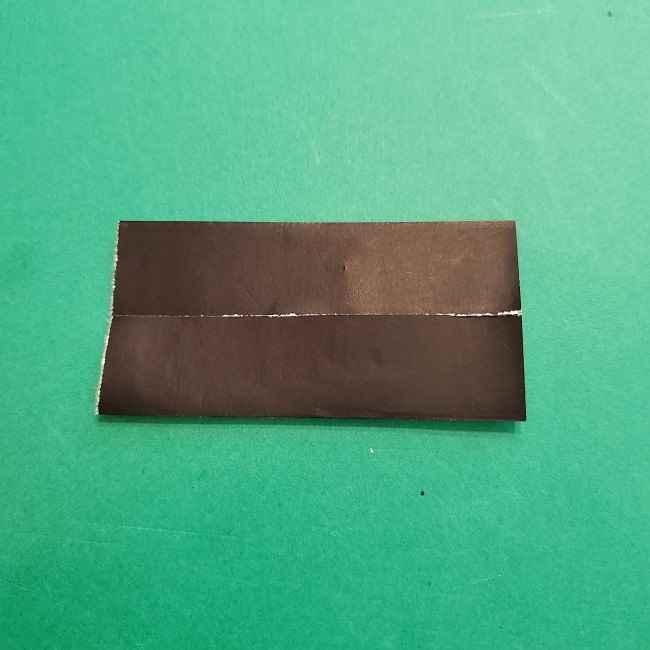 チャーリーブラウンの折り紙☆折り方作り方④ズボン (4)
