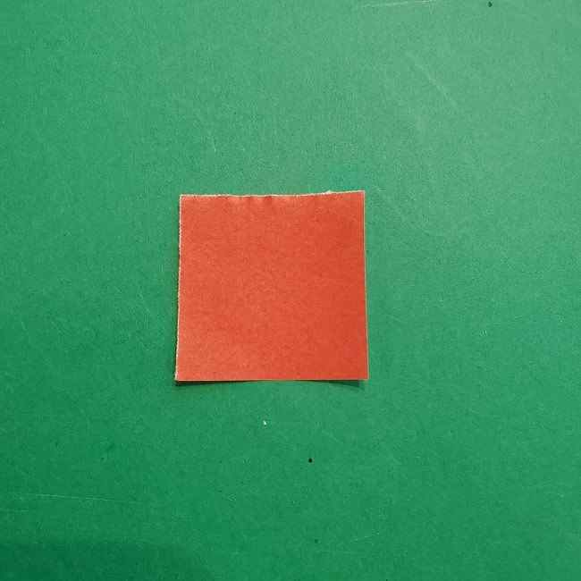 チャーリーブラウンの折り紙☆折り方作り方⑤靴 (1)