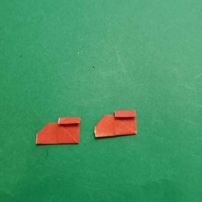 チャーリーブラウンの折り紙☆折り方作り方⑤靴 (11)