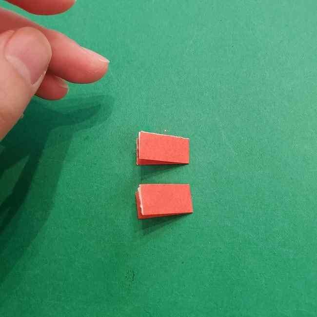 チャーリーブラウンの折り紙☆折り方作り方⑤靴 (5)