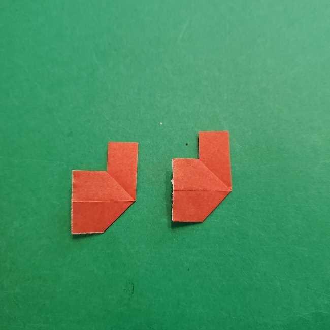 チャーリーブラウンの折り紙☆折り方作り方⑤靴 (7)