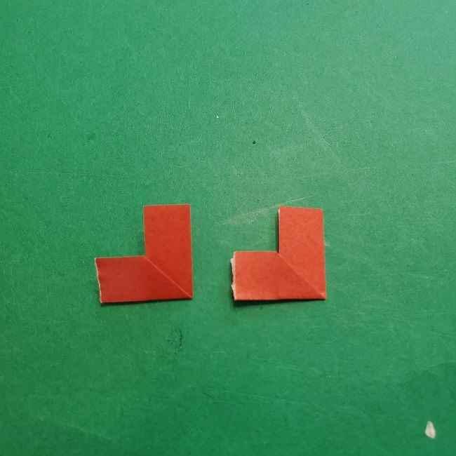 チャーリーブラウンの折り紙☆折り方作り方⑤靴 (8)