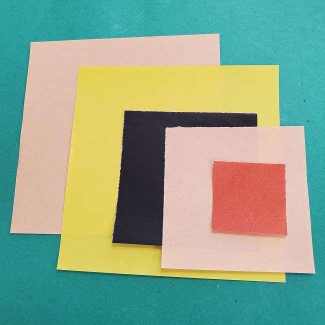 チャーリーブラウンの折り紙☆用意する折り紙