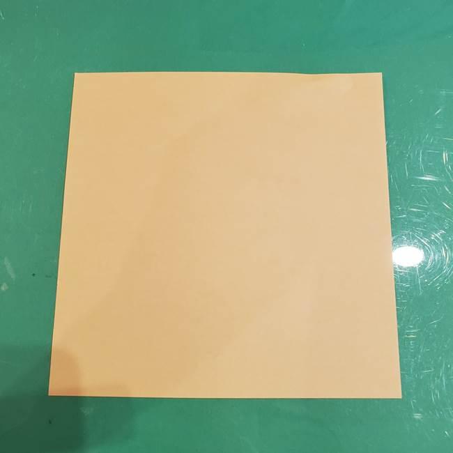 フクロウの折り紙は幼稚園児でも簡単!用意する物1