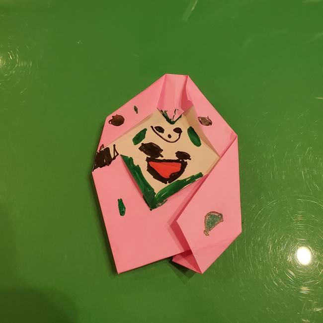 フクロウの折り紙は簡単☆敬老の日に子供と手作りしてプレゼント!