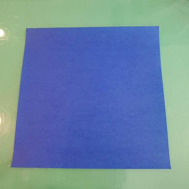 折り紙でつくるクジラの箱*用意するもの(1)