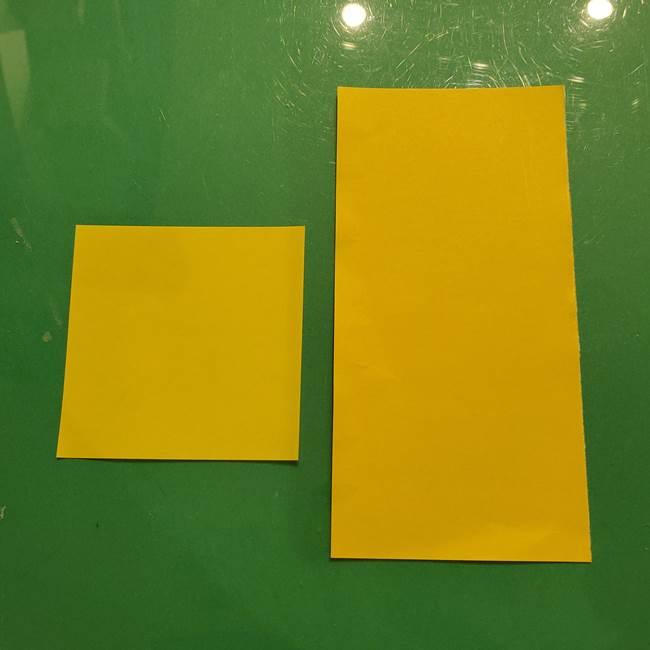 折り紙でつくる流れ星の折り方は簡単☆用意するもの1